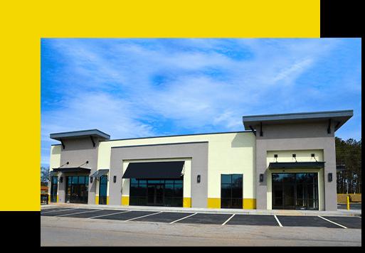 We clean Commercial Buildings